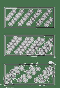Spiralförmiger Besatz Leistenbürste