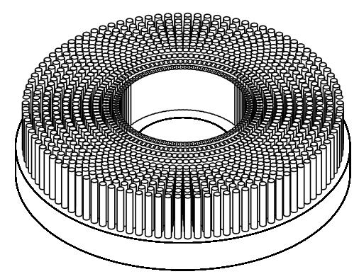 Tellerbürste 3D Ansicht