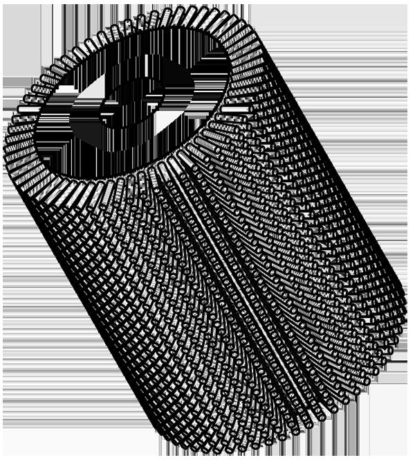 Walzenbuerste 3D Modell