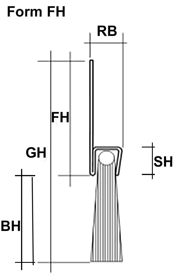 Abdichtbüste Form FH