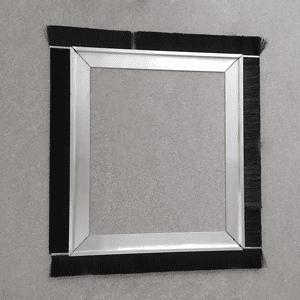 Streifenbürsten Rahmen