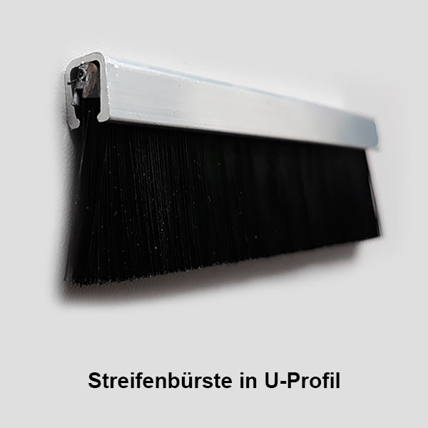Streifenbürste U-Profil